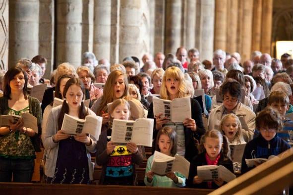 songs joy jubilation augustine