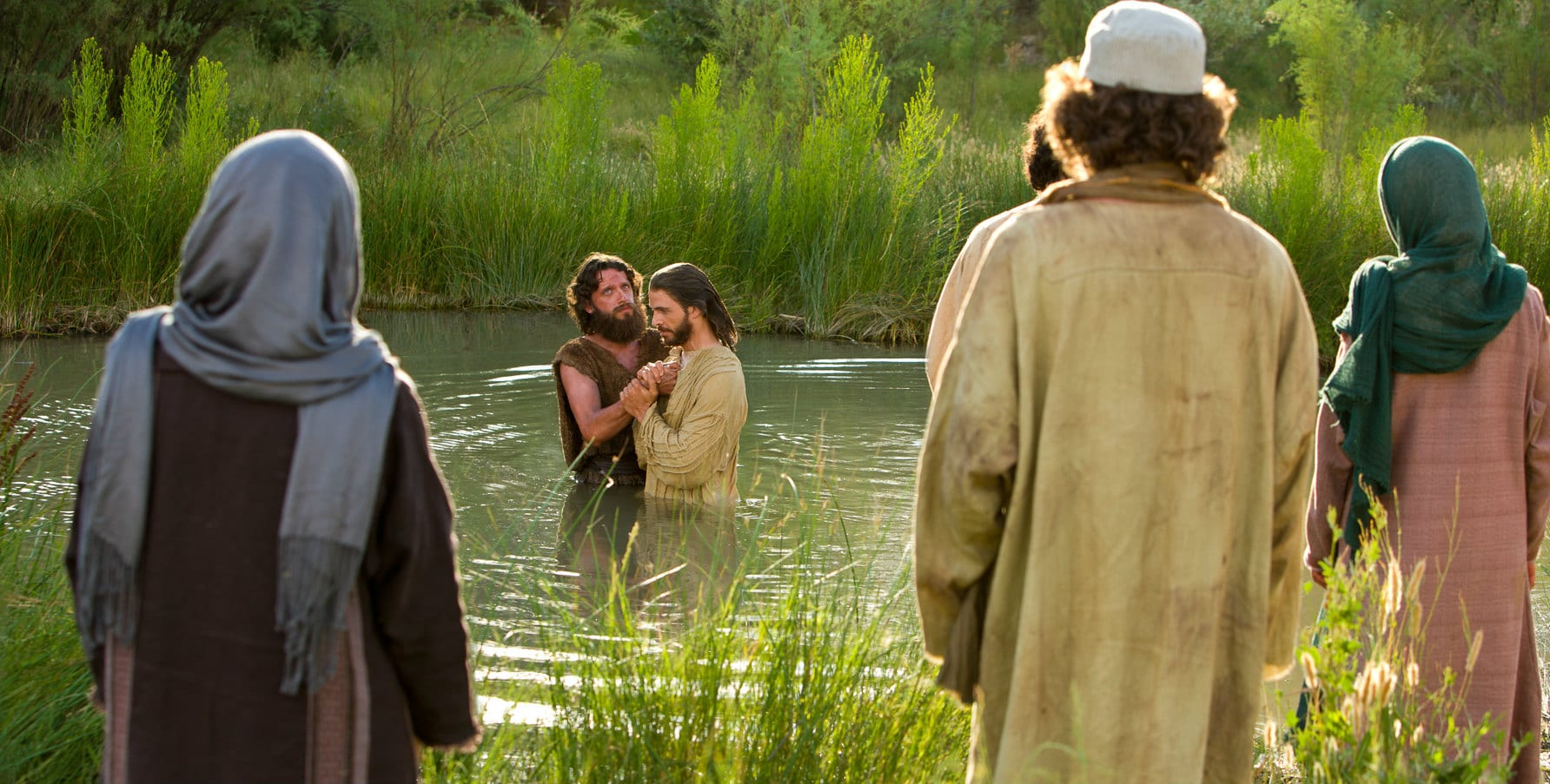 Who is coming to town baptism of jesus photo