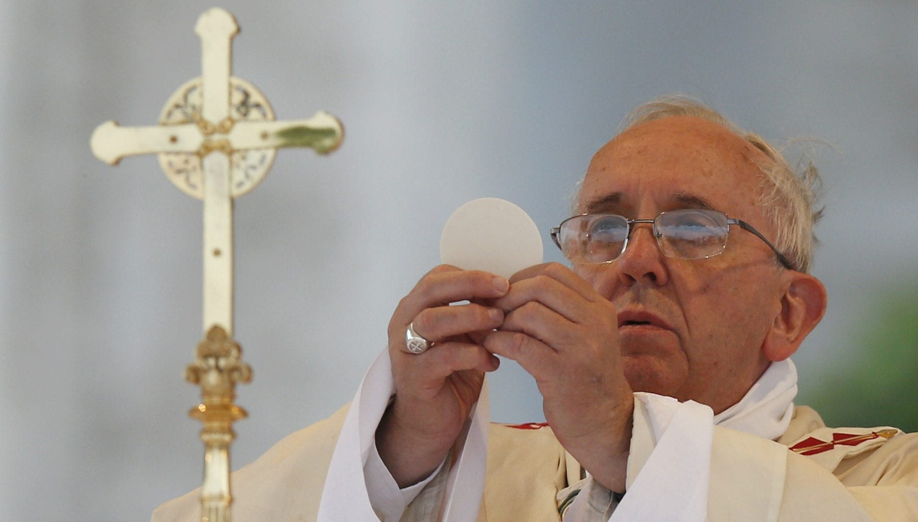 eucharistic thanksgiving pope francis