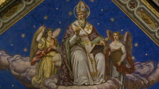 st. ambrose of milan advice on prayer praying asking whole body of Christ Church December 7 feast pastors pastor bishop facebook