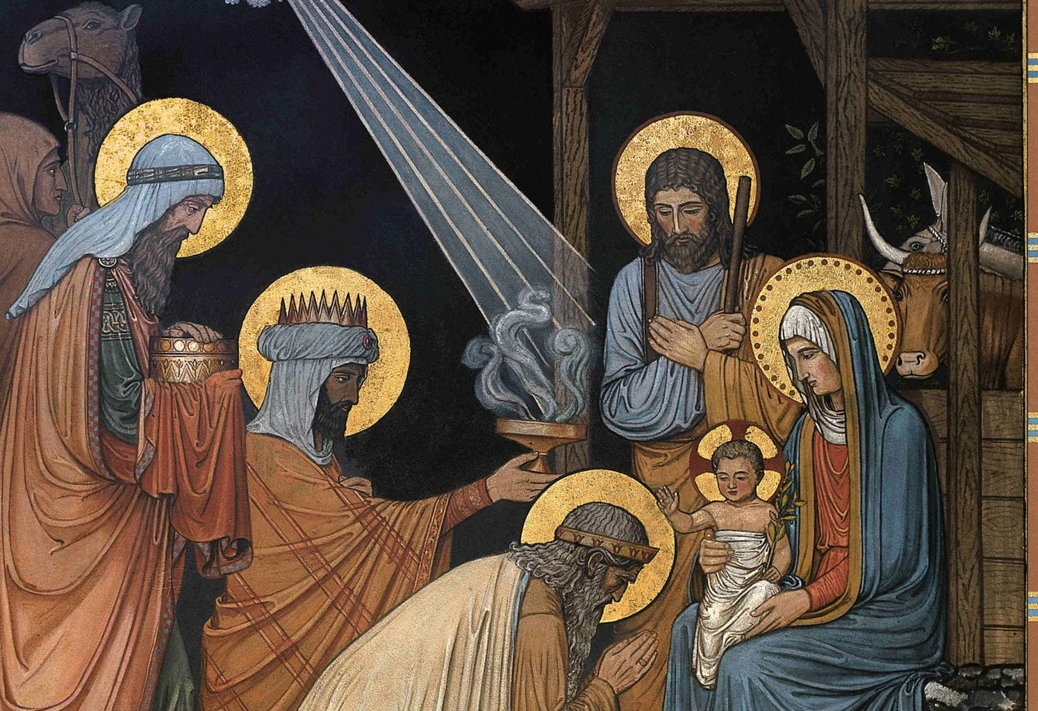 deeper meaning christmas swaddling clothes manger magi significado navidad nativity natale ox ass birth Jesus Christ Bethlehem