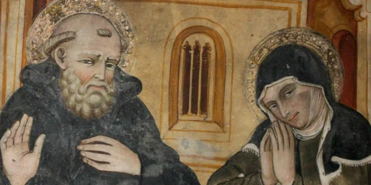 saint benedict st scholastica gregory the great monte cassino february 10 benedictine