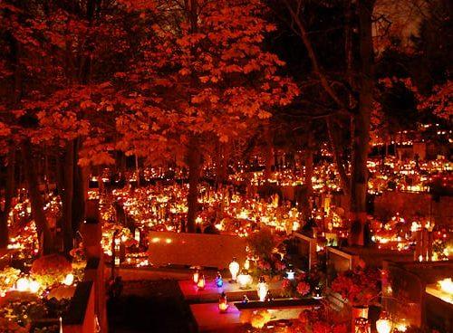 all saints saints' dark lights graveyard