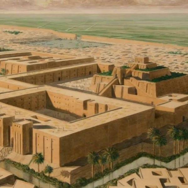 ancient city painting masonry