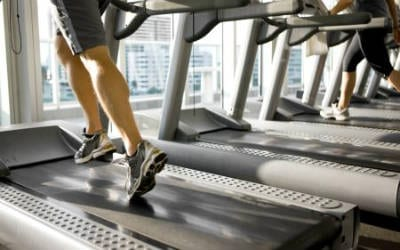 treadmill treadmills gym running run two people person workout