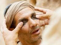 Ciego de nacimiento, los sacramentos y el León de Judá