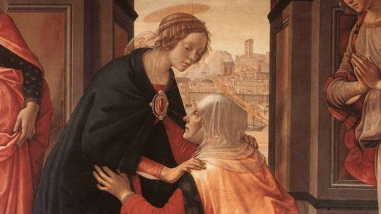 visitation mary's soul rejoices magnificat evening prayer vespers God's greatness mary May 31