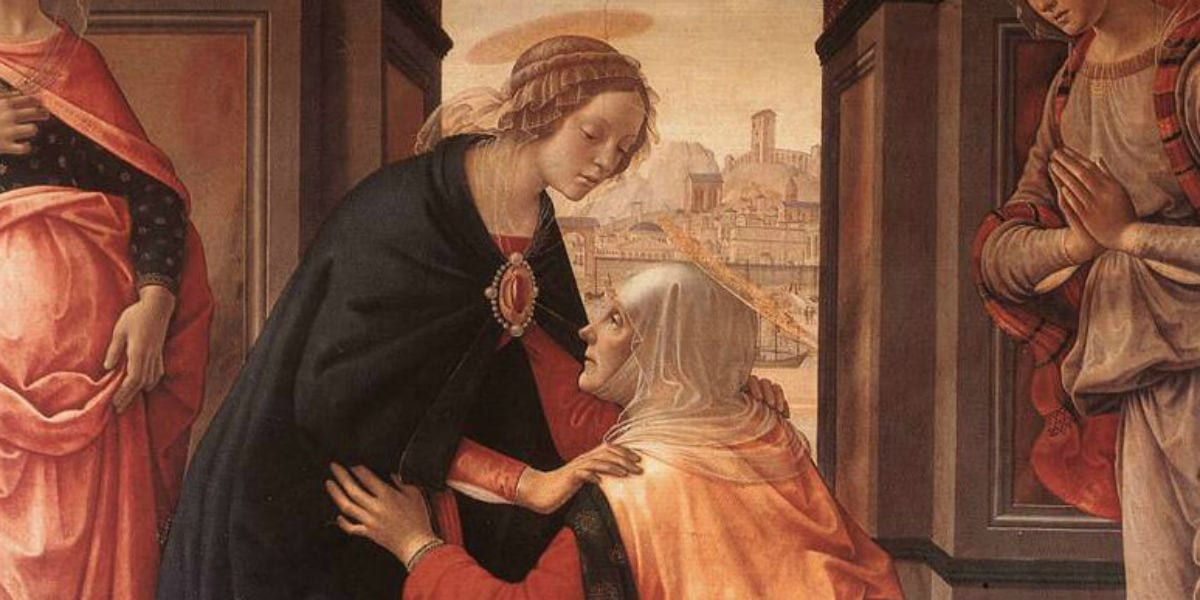 visitation mary's soul rejoices magnificat evening prayer vespers God's greatness mary May 31 bede