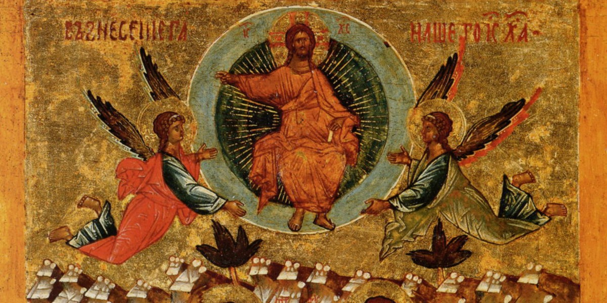 ascension of Jesus Christ leo the great visible presence divinity passes into the sacraments facebook