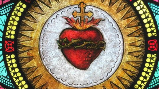 sacred heart of Jesus blood water from his side bonaventure John 19 eucharist baptism sacraments psalm 36 source light life stream sacramental grace