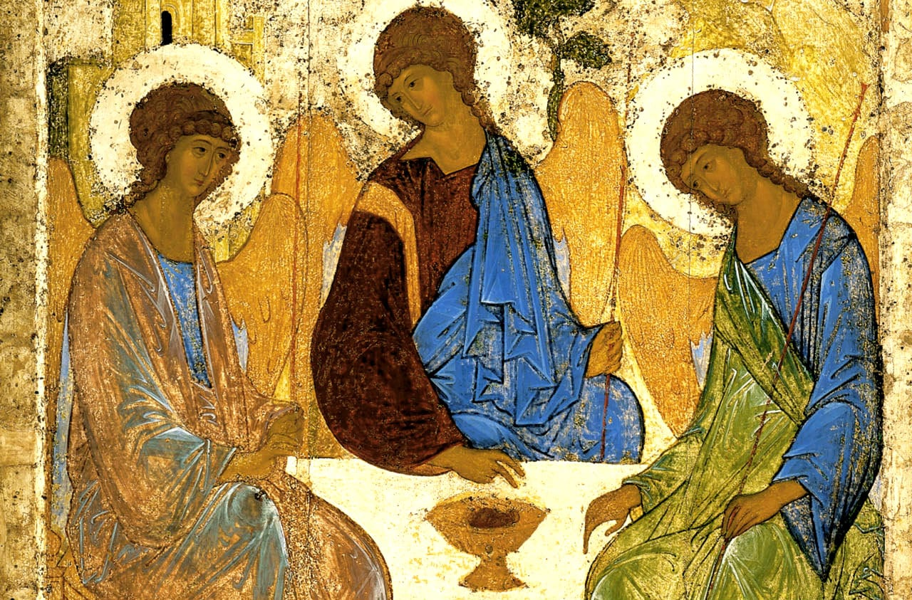 trinity icon rublev-angels-at-mamre