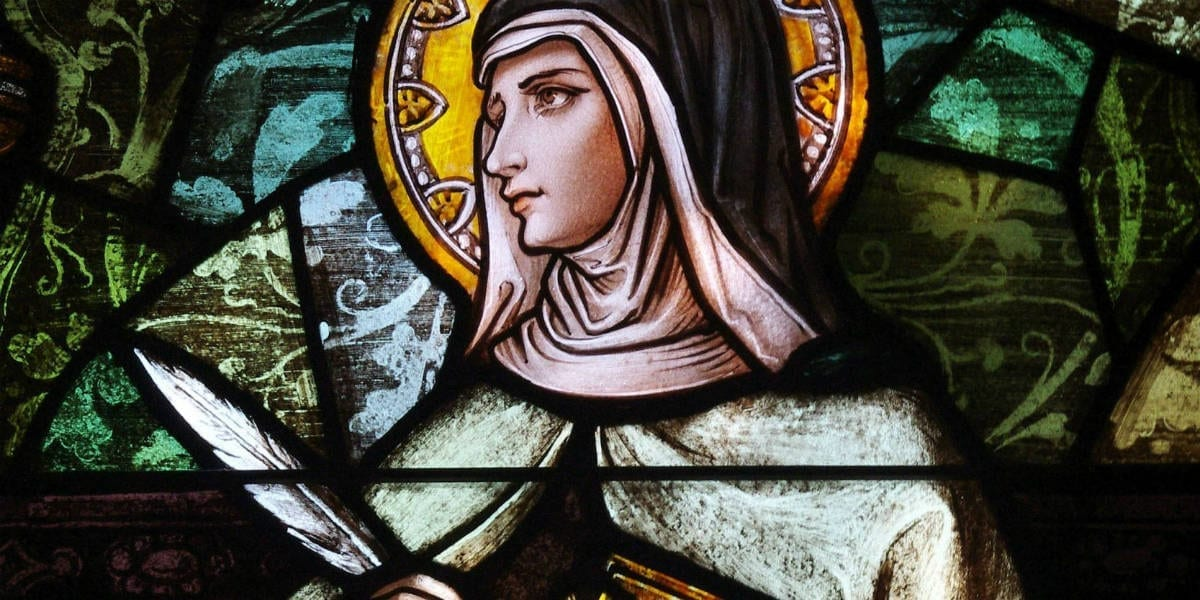 teresa avila lord's prayer thy kingdom come hallowed by thy name joy peace