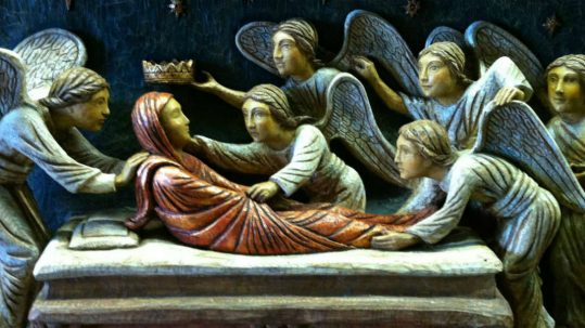 feast solemnity of assumption of virgin mary august 15 dormition facebook
