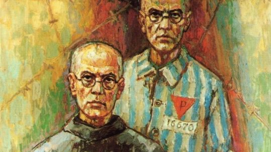 maximillian kolbe illus
