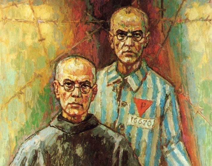 st. Maximilian Kolbe Auschwitz August 14 starvation bunker zeal for God's glory