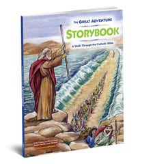 The Great Adventure Storybook Moses Water Staff