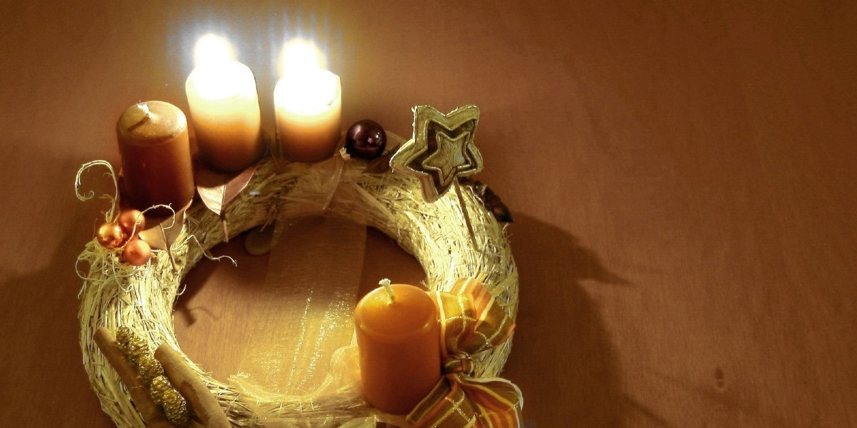 advent wreath candles prepare the way of the Lord Dr. Italy