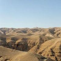 judean desert rock rocks mountain mountains blue sky