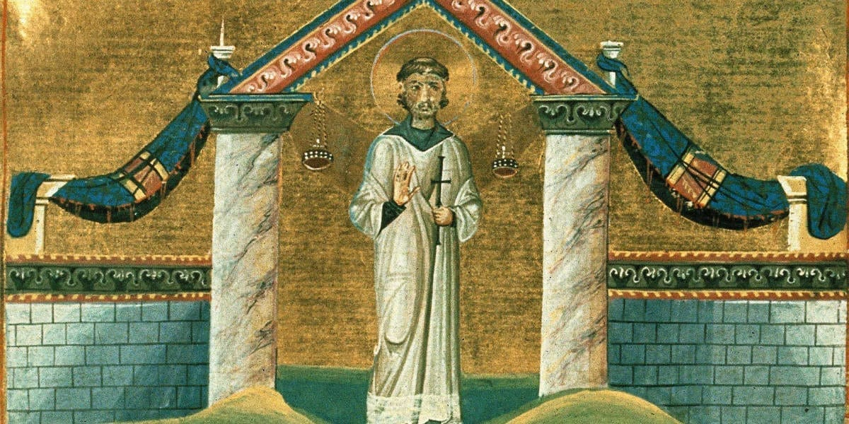 January 22 St. Vincent Deacon Martyr Augustine