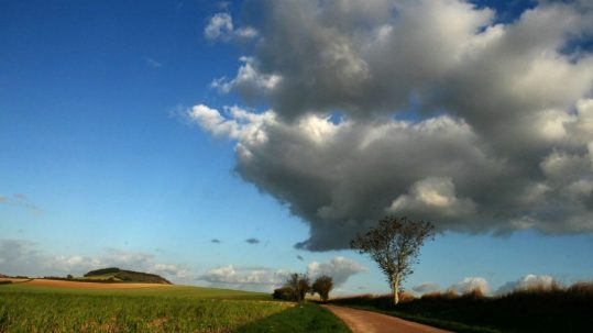 country road cloud tree Meaning of Lent & the Samaritan Woman