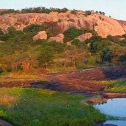 enchanted rock desert way repentance temptation lent prayer sin