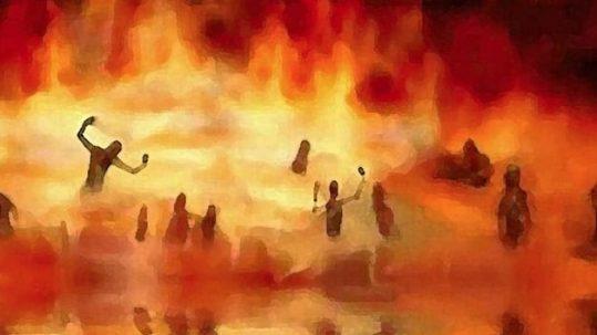 john 3:16 hell 4th sunday lent B judgment grace God so loved the world giovanni 3:16 inferno quarta domenica quaresima B giudizio grazia Dio ha tanto amato il mondo