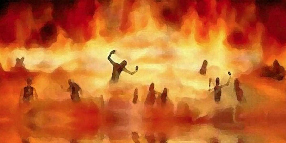 john jn 3:16 hell fire 4th sunday lent B judgment grace God so loved the world giovanni 3:16 inferno quarta domenica quaresima B giudizio grazia Dio ha tanto amato il mondo facebook