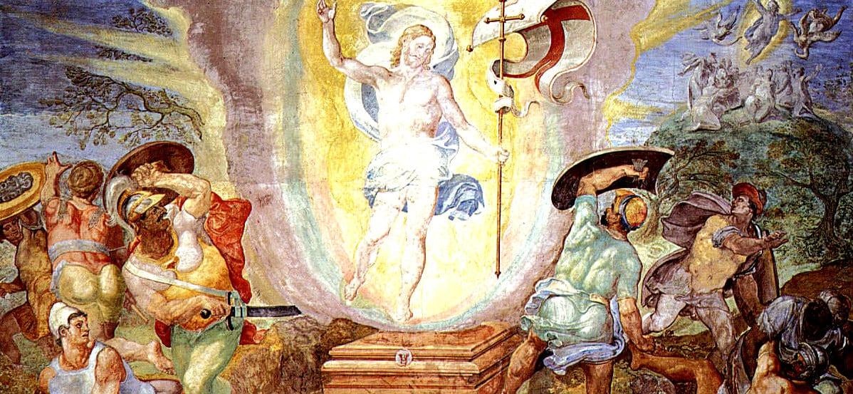 Easter resurrection ghost flesh and blood bodily resurrection gnostic gospels Pasqua Resurrezione fantasma carne e sangue vangeli gnostici
