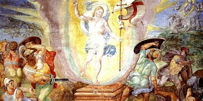 Easter resurrection ghost flesh and blood bodily resurrection gnostic gospels Pasqua Resurrezione fantasma carne e sangue vangeli gnostici facebook