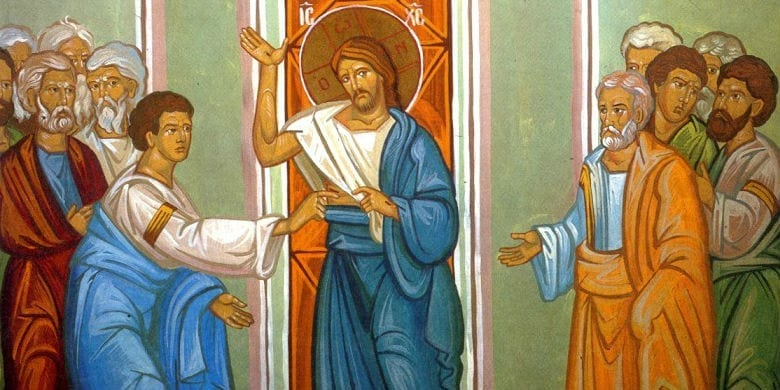 doubting thomas divine mercy sunday octave
