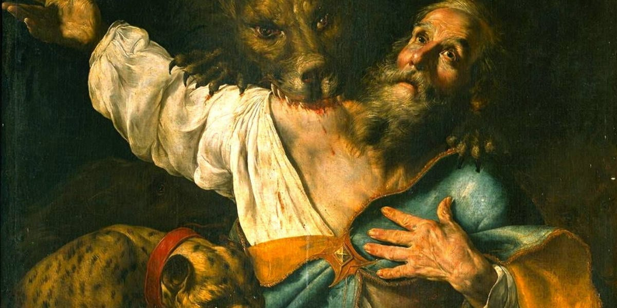 ignatius martyr attacked by animals