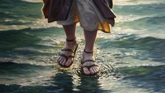 jesus walking on water Hidden Meaning of Loaves & Fishes multiplication eucharist fish 17th sunday ordinary b