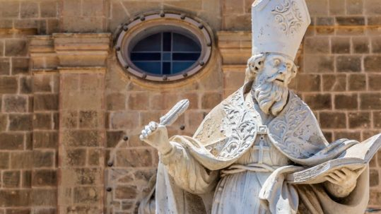 saint augustine of hippo statue augustine and the pelagian heresy
