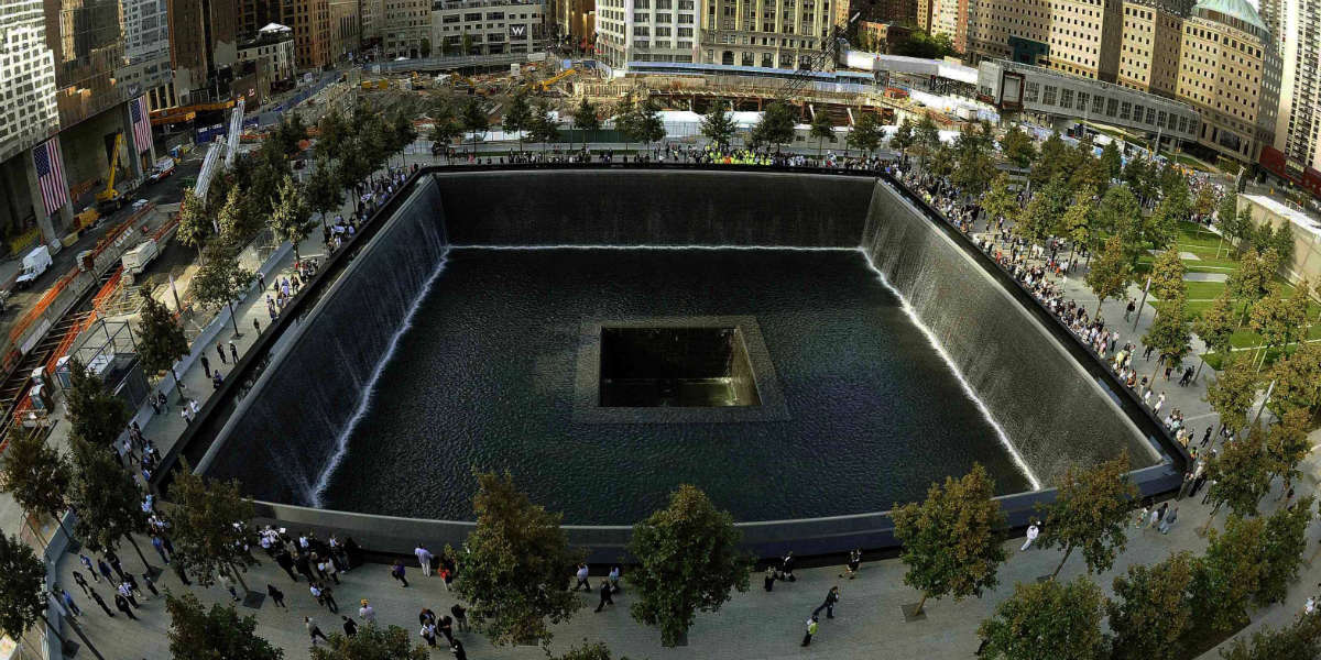 twin towers ground zero memorial Twin tower terrorism and the power of the cross