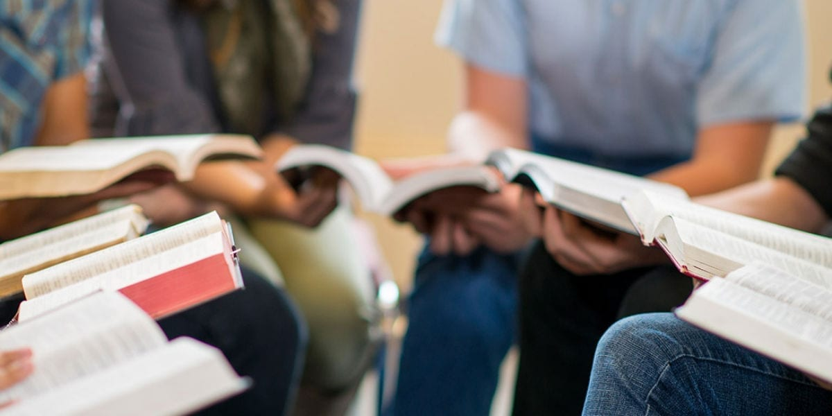 young adults studying the bible Catholic Creatives, Millennials & Hope for the Church