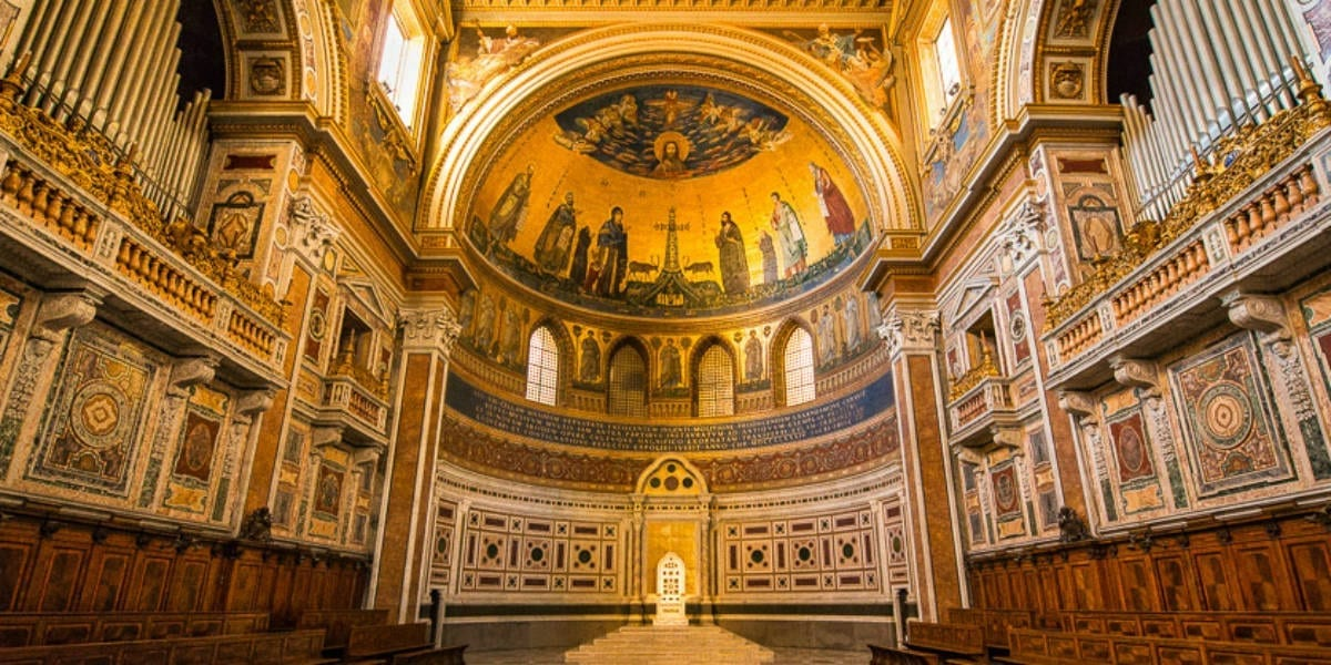 churches St. saint John Lateran basilica dedication feast november 9