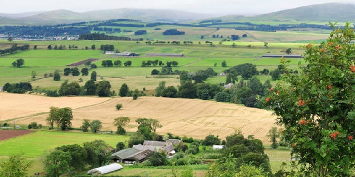scottish farm land christ garden farmer spirit facebook