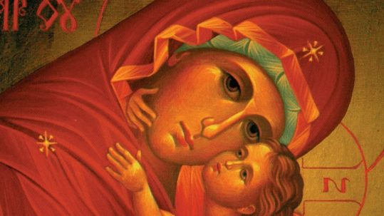 hunger for righteousness beatitudes leo the great mary mother of God January 1 theotokos blessed are the merciful pure in heart mercy purity facebook