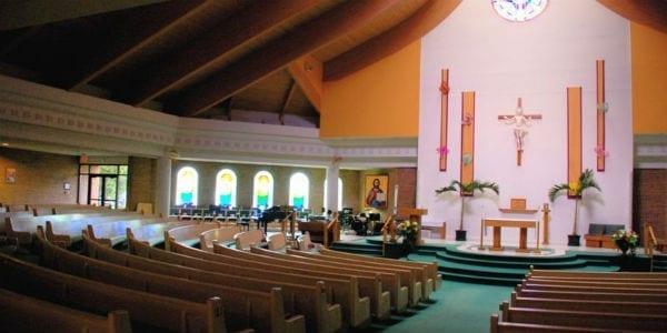 st paul the apostle greensboro north carolina interior