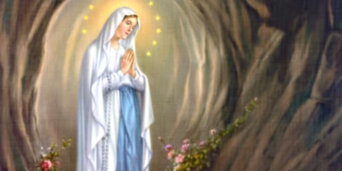 our lady of lourdes st bernadette soubirous grotto cave february 11