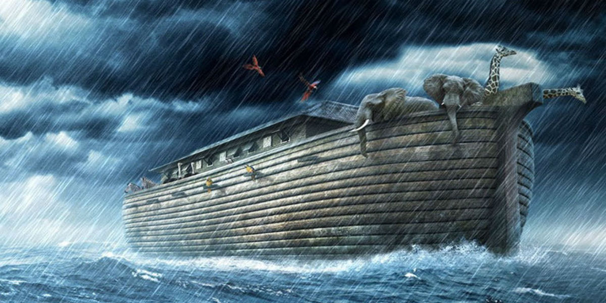 noahs ark lent baptism 40 days