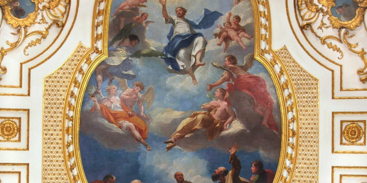augustine heaven solemnity ascension of Christ, we ascended with him through Love ascend