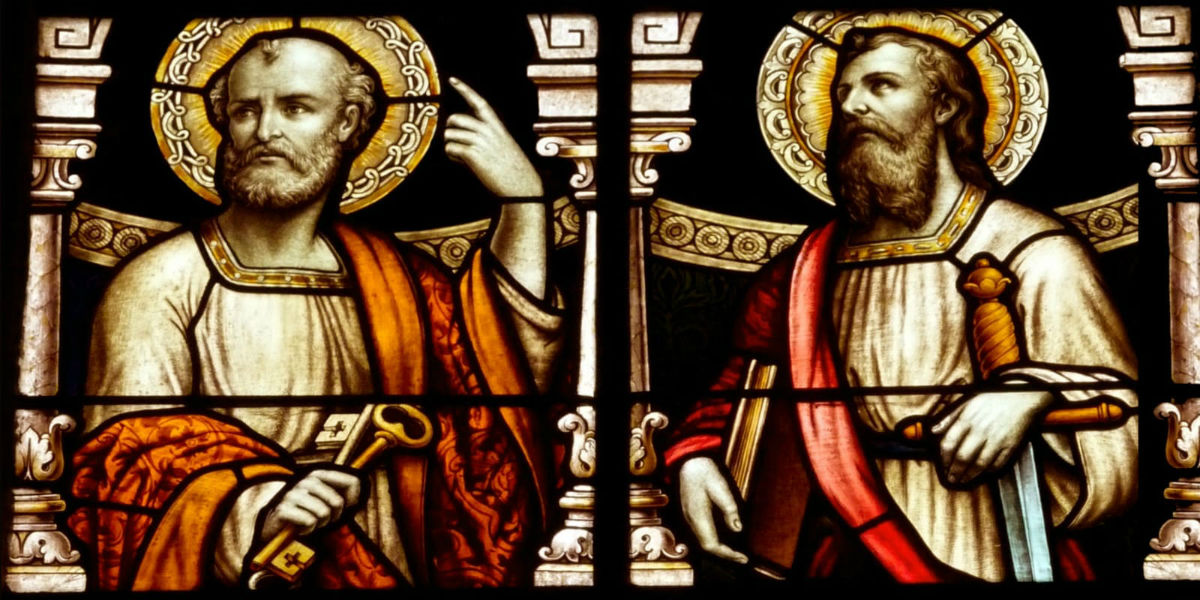 st. sts peter paul church rome martyrs apostles June 29 facebook