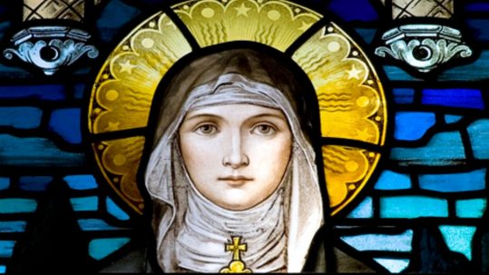 St. Claire Clare Assisi Light St_Francis, Franciscan_order clarity blessed sacrament