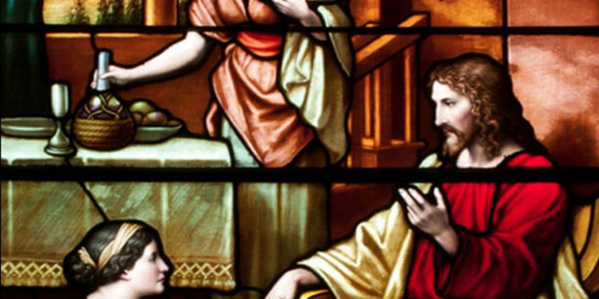 Martha, Mary, Prayer & Service – Podcast