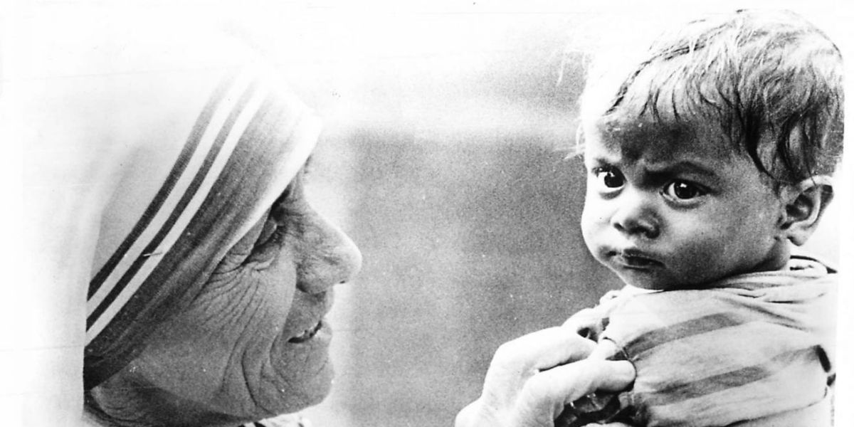 mother teresa of calcutta saint st. verified quotes & stories love poorest of the poor facebook