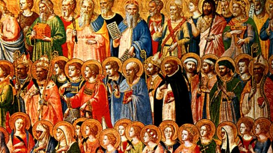 all saints day heaven november 1 holiness sanctity love saint fra angelico todos los santos amor santidad