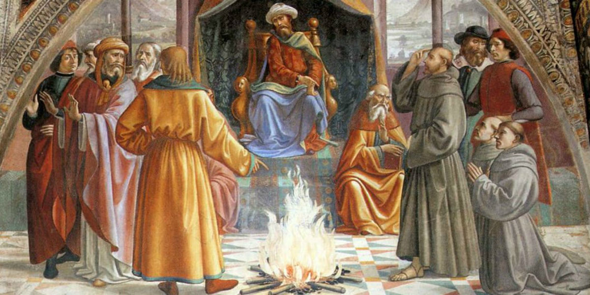 st-francis-before-the-sultan-of-egypt-1485-ghirlandaio facebook