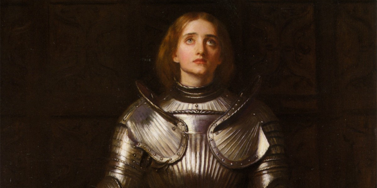 Joan of Arc, faith and fortitude – Podcast