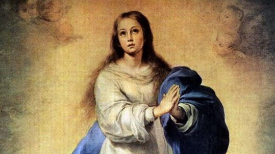 Immaculate Conception, feast, december 8, virtue